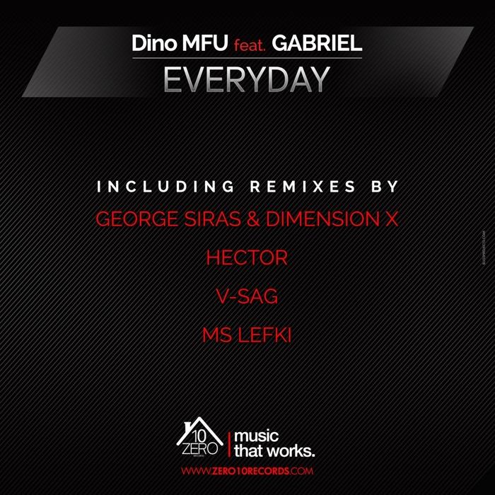 Dino MFU feat. Gabriel – Everyday (George Siras & Dimension-X Remix)