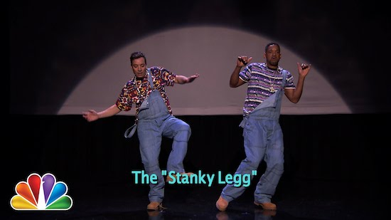 Video: Jimmy Fallon & Will Smith – Evolution of Hip-Hop Dancing