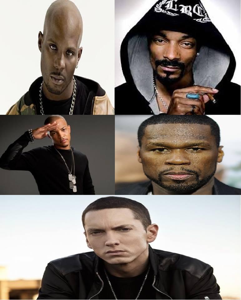 Throwback Sundays Vol.08 : DMX, Snoop Dogg, Eminem, 50 Cent, T.I.