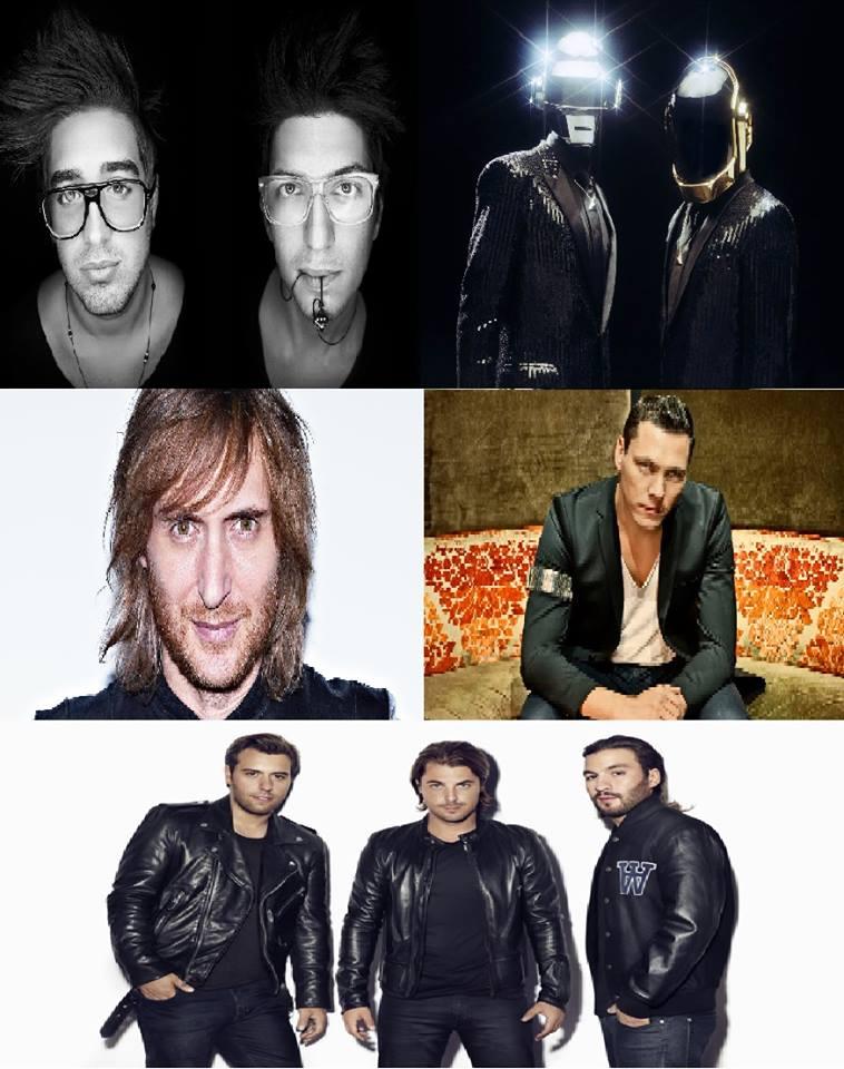 Throwback Sundays Vol.11: David Guetta, Daft Punk, Swedish House Mafia, Tiesto, Playmen